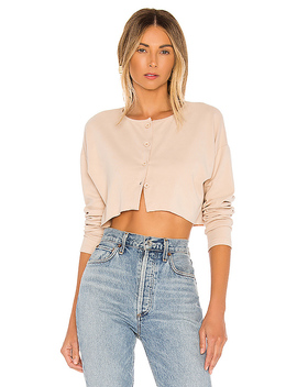 Keaton Cropped Top In Nude by Privacy Please