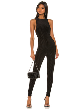 X Draya Michele Welcome To The Party Catsuit by Superdown