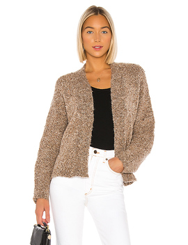 Comin' In Cozy Cardigan In Light Camel by Bb Dakota
