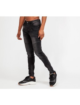 Savio Denim Jean | Black Wash by Glorious Gangsta