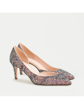 Colette D'orsay Pumps In Holographic Glitter by J.Crew