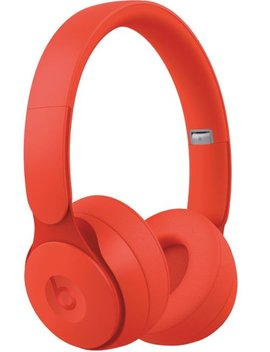 Solo Pro More Matte Collection Wireless Noise Canceling On Ear Headphones   Red by Beats By Dr. Dre