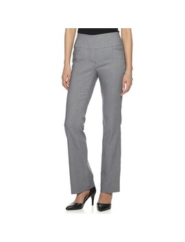 Women's Apt. 9® Tummy Control Millennium Pull On Bootcut Dress Pants by Apt. 9