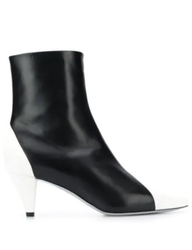 Colour Block Ankle Boots by Givenchy