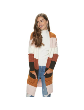 Juniors' So® Open Front Cardigan by Juniors' So