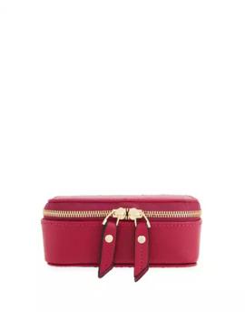 Neiman Marcus Saffiano Small Jewelry Case by Neiman Marcus
