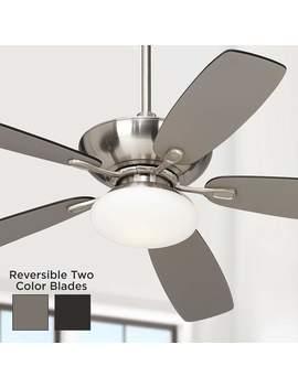 "52"" Casa Vieja® Flex Brushed Nickel Ceiling Fan by Lamps Plus"