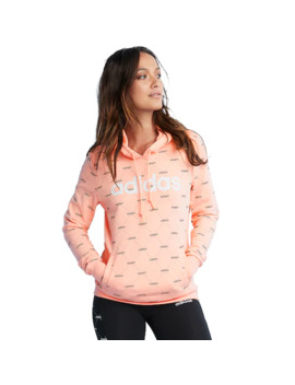 Women's Adidas Allover Graphic Hoodie by Adidas