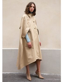 Watson Trench Cape By A.W.A.K.E Mode by The Frankie Shop