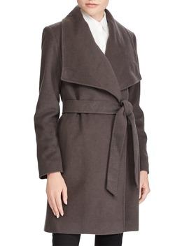 Cashmere & Wool Wrap Coat by Lauren Ralph Lauren