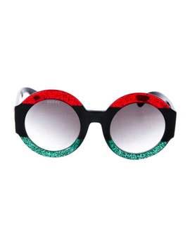 2018 Gg Glitter Sunglasses by Gucci