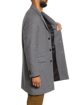 Slim Fit Twill Topcoat by Club Monaco