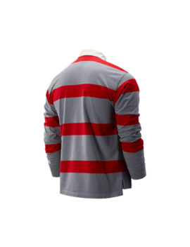 Stripe Nb Athletics Stadium Rugby Ls by New Balance
