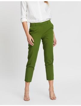 Split Hem Ankle Grazer Pants by Dorothy Perkins