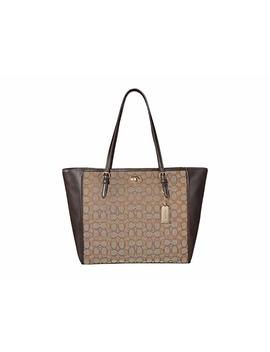 Signature Turnlock Tote by Coach