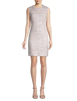 Striped Short Sleeve Shirtdress by Karl Lagerfeld Paris