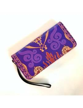 Aladdin Magic Carpet Wallet | Aladdin Wallet | Disney Wallet | Disney Wrist Wallet | Disneyland Wallet | Disney World Wallet by Etsy