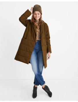 Dumont Quilted Coat by Madewell