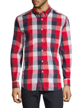 Long Sleeve Plaid Button Down Shirt by Tommy Hilfiger