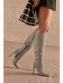 High Style Heeled Tall Boot by Justfab