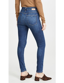 Palme High Rise Skinny Jeans by Cqy