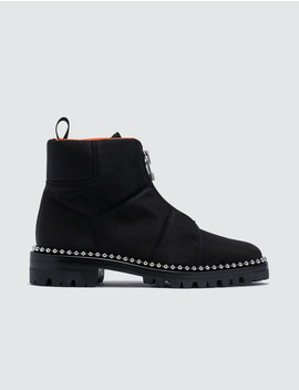 Cooper Nylon Boots by              Alexander Wang