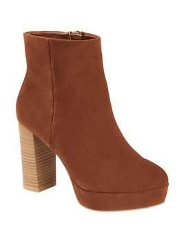 Scoop Sydney Microsuede Platform Bootie Women's by Scoop