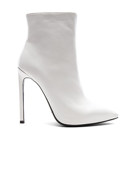Freddie Bootie In White Capretto by Tony Bianco