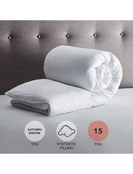 Fogarty Soft Touch 15 Tog Duvet by Dunelm