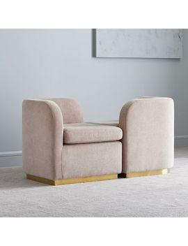 Roar + Rabbit™ Tete A Tete Chair by West Elm