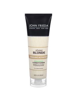 John Frieda Sheer Blonde Highlight Activating Brightening Conditioner   8.45 Fl Oz by John Frieda