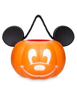 Mickey Mouse Light Up Pumpkin Bucket | Shop Disney by Disney
