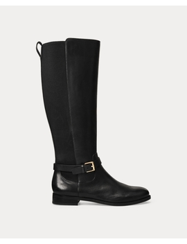 Barnehurst Leather Boot by Ralph Lauren