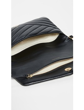 Kira Chevron Clutch by Tory Burch