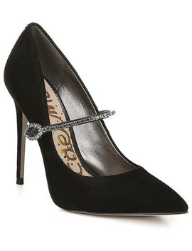 Debrah Crystal Mary Jane Pointed Toe Pump by Sam Edelman