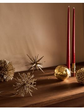Golden Christmas Baubles by Zara Home