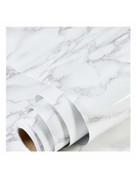 Diy Self Adhesive Marble Wallpaper Granite Texture Contact Sticker Wall Paper Waterproof Pvc Removable Stain Resistant by Moaere