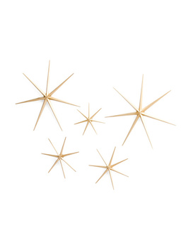 Set Of 5 Star Wall Decor by Tj Maxx