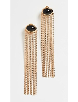 Bronx Pendant Earrings by Aurelie Bidermann