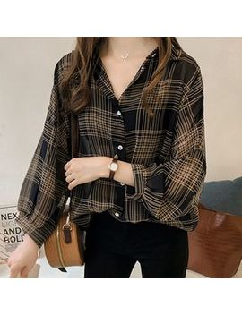Superduper   Plaid Oversize Light Shirt by Superduper