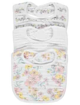 Pink Floral Butterflies Sleepsuits 3 Pack by Asda