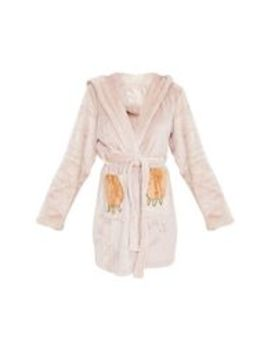 Beige Sloth Dressing Gown by Prettylittlething