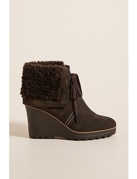 See By Chloe Shearling Lined Wedge Boots by See By Chloe