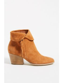 Silent D Suede Heeled Ankle Boots by Silent D