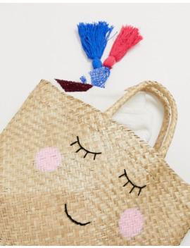 sass-&-belle-seagrass-shopper-basket by sass-&-belle