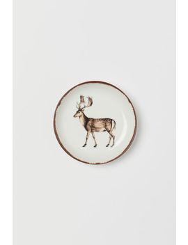 Mały Talerzyk Z Porcelany by H&M