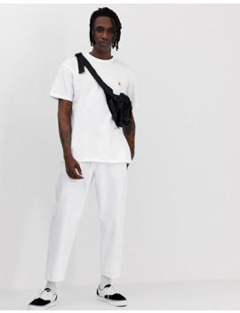 carhartt-wip-chase-t-shirt-in-white by carhartt-work-in-progress