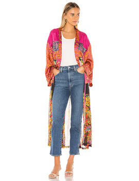 The Young Love Kimono In Multi by Free People