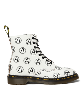 Dr. Martens 8 Eye Supreme X Undercover Anarchy White by Stock X