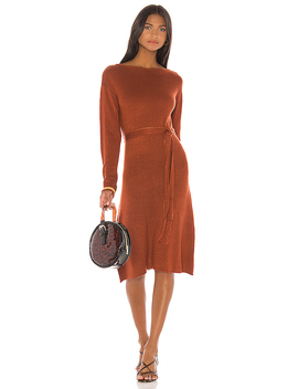 X Revolve Tawney Sweater Dress In Rust by House Of Harlow 1960